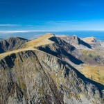 View west from Cadar Idris