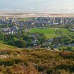 Penbryn Mynach view