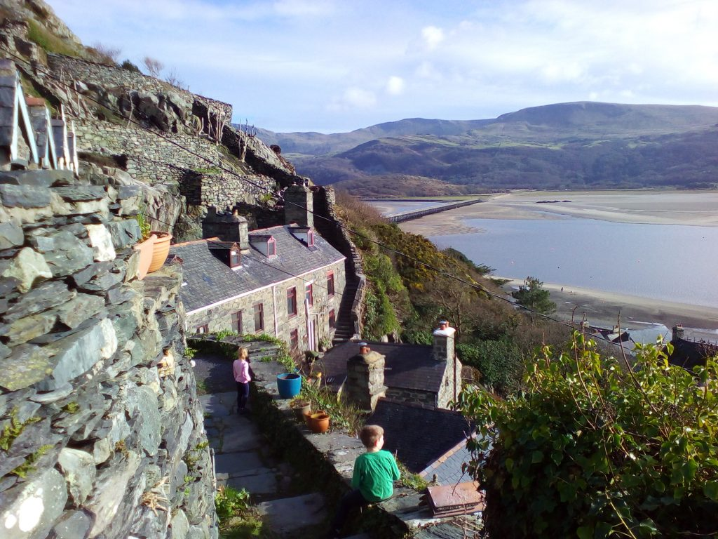 Barmouth old town
