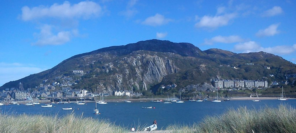 Barmouth from the other side of the Mawddach estuary